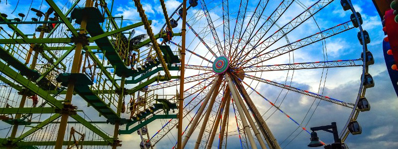 The Island at Pigeon Forge Ferris Wheel