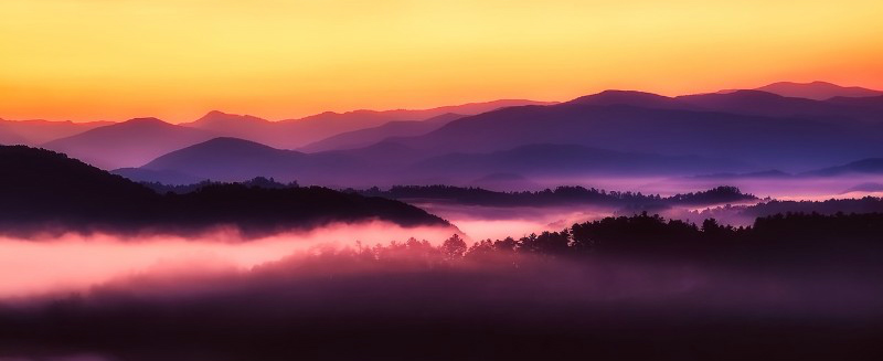 Unforgettable Sunsets Great Smoky Mountains National Park